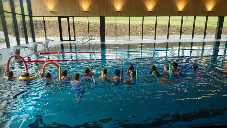 Schwimmunterricht in der 5. und 6. Klasse