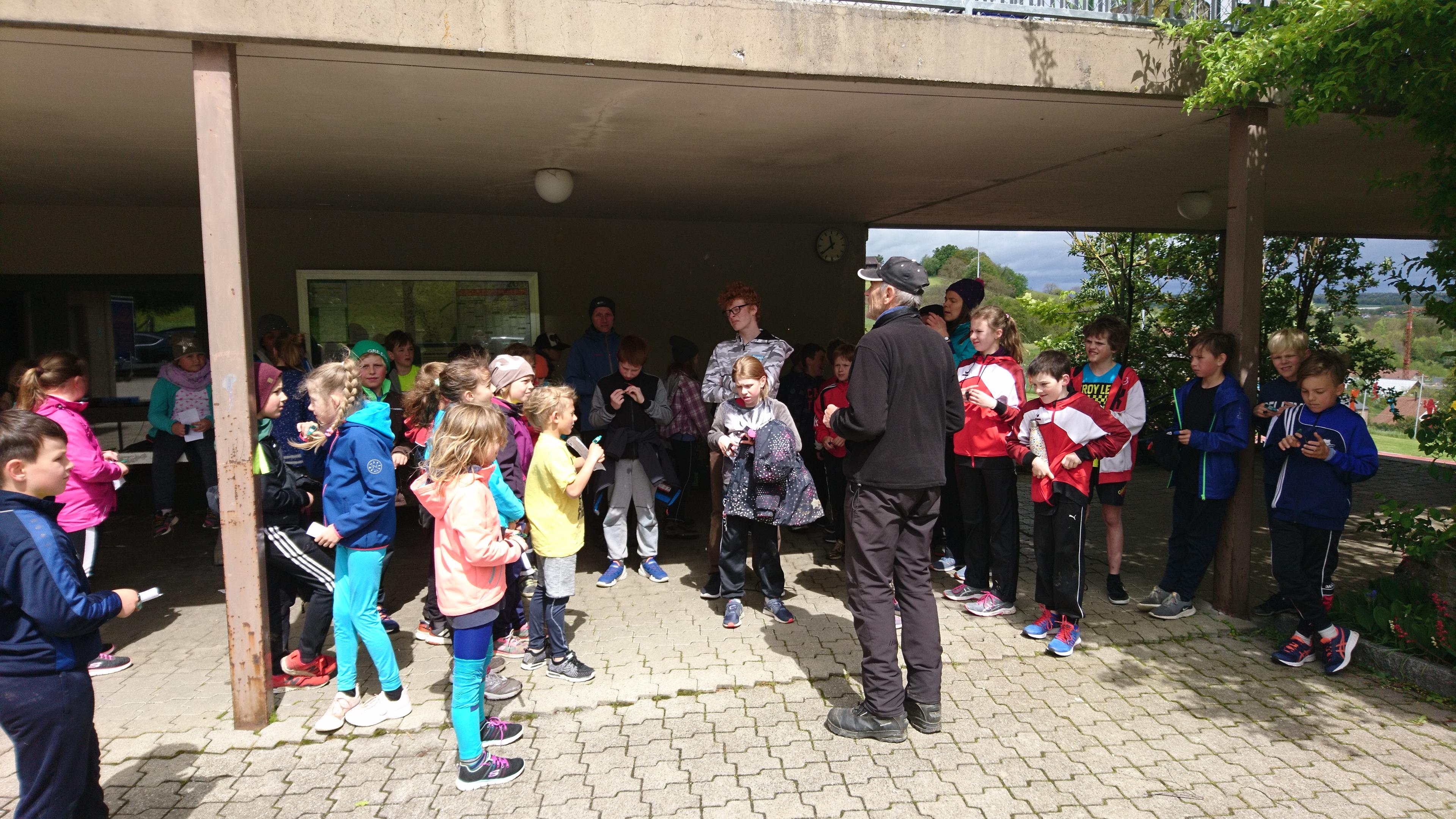 Schulhaus-OL in Oltingen